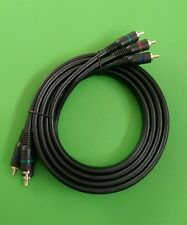 (NEW) 6 FT HDTV 3-Component Video Cable DVD VCR
