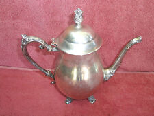 ANTIQUE  F. B. ROGERS  SILVER PLATED  COFFEE  POT   24cm..