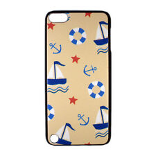 Sailboat Anchor Star Pattern Hard Case Cover for iPod Touch 5 gen 5th generation