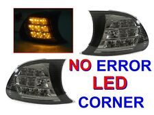 DEPO 02-03 BMW E46 2D/CABRIO/02-06 E46 M3 SCREW-ON AMBER LED SMOKE CORNER LIGHTS