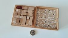 Muji wooden car puzzle