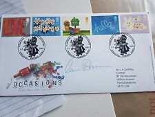Doctor Who DOC MARTIN Claire Bloom firmato FDC