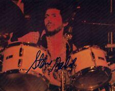 Steve Gadd Signed Autographed 8x10 Photo Studio Session Drummer AJA Proof E
