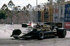 Elio DE ANGELIS LOTUS 93T USA WEST GRAND PRIX 1983 Fotografia