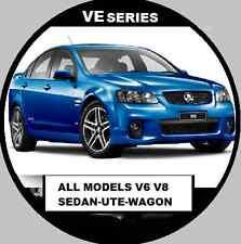 VE COMMODORE CALAIS SS V8 SV6 V6  2007-2010 REPAIR,WORKSHOP MANUAL  CDROM
