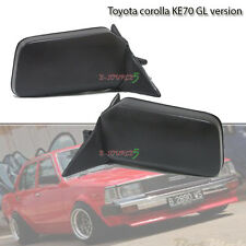 Toyota Corolla KE70 TE71 GL Version Manual Adjust Door Side Mirror LH+RH - New