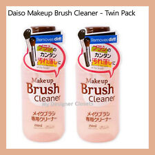Daiso Makeup Brush Cleaner Twin Pack (2 x 150ml) Removes Dirt Made in Korea MDC
