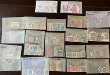 CANADA STAMPS LOT, REGISTERED, AIRMAIL AND MORE!