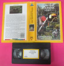 VHS film AMAZZONIA LA FORESTA SOMMERSA NATIONAL GEOGRAPHIC STARLIGHT(F174)no dvd