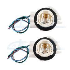 2pcs 3156 3056 3456 4156 Bulb Socket Brake Turn Signal Light Harness Wire Plug