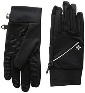 Mens Columbia Trail Summit Lightweight Omni Heat Touch Running Gloves Liners