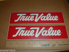 True Value hardware store New racing decal sticker bumpersticker vintage lot 11""