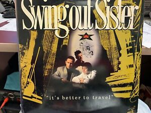 SWING OUT SISTER IT'S BETTER TO TRAVEL LP 1987 MERCURY 8322131 Q-1 INNER