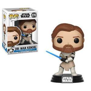 Obi-Wan Kenobi #270 Clone Wars STAR WARS Funko Pop Vinyl New in Mint Box + P/P