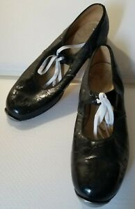 Vintage Tap Dance Shoes - Monte Carlo - 50+ Yrs Old