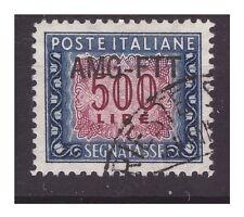 TRIESTE A - 1954   SEGNATASSE   500 LIRE   USATO