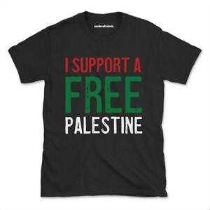 Support Palestine Activist T-Shirt Equality Diversity Womens Mens