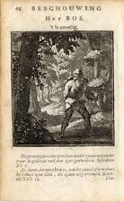 Antique Print-FOREST-WOOD-Luiken-1725
