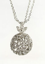 *New* set of 2 statement necklaces- crystal glitterball & bubble; RRP £45