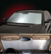 SILVER Sun Shade for windshield - CUSTOM Precision Cut -For Subaru