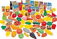 114 Pièce Géant Jeu Nourriture Set Fruits Légumes Gâteaux Épicier Magasin Jouet