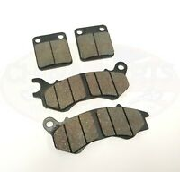 Front & Rear Brake Pad Set for Sinnis Apache 125 SMR  QM125GY-G