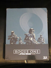 Star Wars Rogue One 3D/2D Blu-Ray Steelbook Italy Region Free New Sealed Sci-Fi