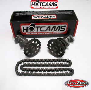 Hot Cams Stage 2 Intake and Exhaust Cams & Chain Suzuki LTZ 400 KFX 400 DVX 400