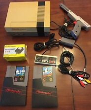 NES Console Bundle Nintendo Entertainment System All Cables Included Complete