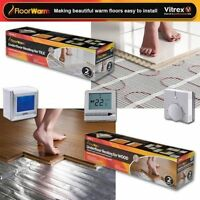 Electric Underfloor Heating Mat Kit 200w Per M2 All Sizes In This Listing - Tile