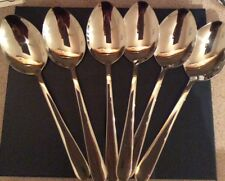 18/10 Stainless steel Christmas Serving/ Table Spoons Outstanding Quality