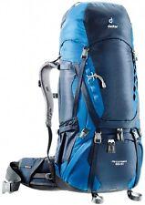 Zaino Trekking Campeggio Viaggi Cammino Santiago DEUTER AIRCONTACT 65 + 10