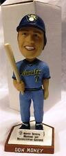 "2004 BELOIT SNAPPERS DON MONEY ""POWDER BLUE"" SGA BOBBLEHEAD ~ MINT w/ BOX"