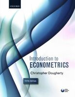 Introduction to Econometrics, Paperback by Dougherty, Christopher, Brand New,...