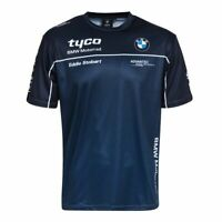 Tyco BMW All Over Print Official Team Motorcycle Motorsport T Shirt