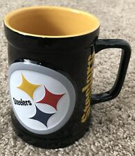 Pittsburgh Steelers Football Sculpted Logo Licensed Coffee Mug NFL