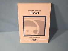 98 1998 Ford Escort owners manual