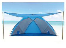 Strandmuschel UV 80+ Sonnenschutz Windschutz Zelt Camping Strand