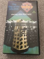 Doctor Who, The Day of the Daleks NEW VHS Video RARE BLUE LABEL