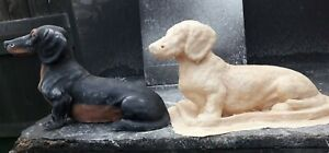 Dachshund Dog > Latex Mould Only to make garden ornament statue