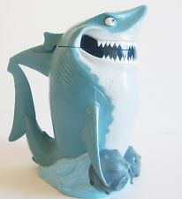 Disney On Ice Finding Nemo Bruce Shark Mug Cup Plastic Souvenir With Lid Cap
