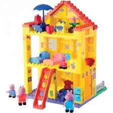 BIG BLOXX Peppa Pig Haus Familienhaus Einfamilienhaus 3-stöckig Villa Spielhaus