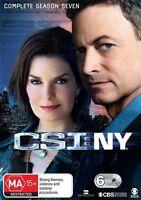 CSI NY : Season 7 (DVD, 6-Disc Set) NEW