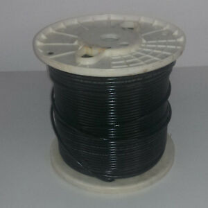 CommScope 1,000' Spool Cat5e Black Outdoor Direct Burial UV Flooded 350Mhz 5NF4