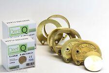 Dental Lab Flask Bronze Denture Press Compress Kit 1 Upper 1 Lower Dentq