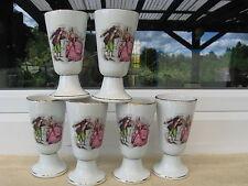 6 MAZAGRANS Porcelaine Tradition MARQUIS MARQUISE 14 cm