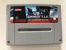 Super Nintendo SNES Spiel - Full Throttle All-American Racing