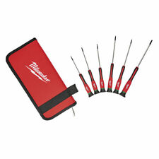 Milwaukee T6-15 Torx Precision Screwdriver Set With Case 48222610 6pcs*usa BRAND