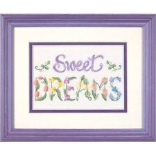 Dimenions Mini Crewel -flowery Sweet Dreams - Flowery Dimensions Embroidery Kit