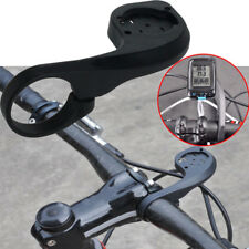 Bike Bicycle Extension Computer GPS Mount Bracket Holder For Garmin Edge Black